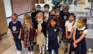 Photo of 2nd grade students